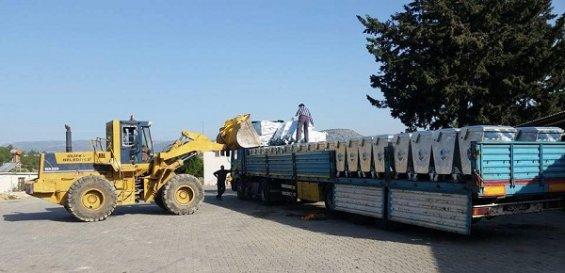 Silifke Belediyesi 600 Adet Çöp Konteyneri Aldı