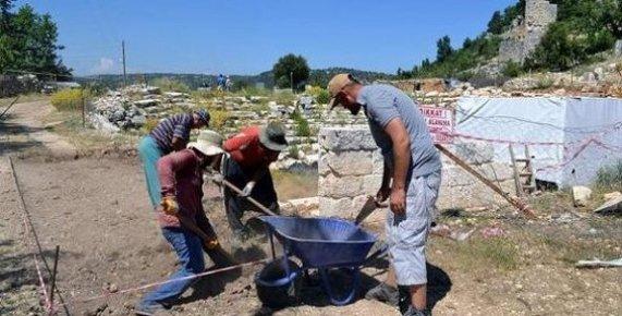 Silifke'de Olba'da Kazılar Başladı