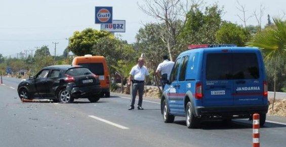 Silifke'de Trafik Kazası: 1 Yaralı