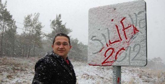 Silifke'ye Kar Yağdı