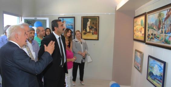 Soner Çetin, Çağ Üniversitesi'nde Sergi Açtı