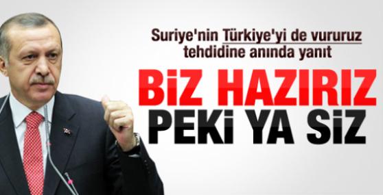 Suriye: Türkiye'yi ve İsrail'i vururuz !