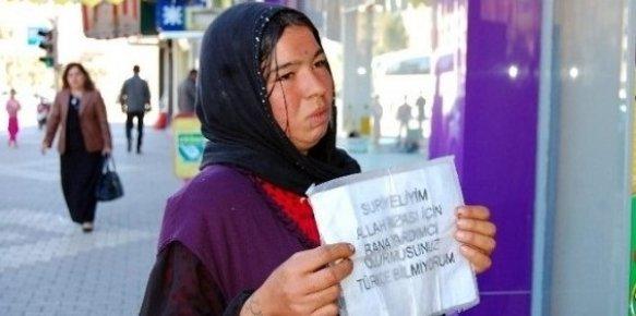 Suriyeliler Mersin'de Dilenciliği Artırdı