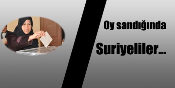 Suriyeliler Seçimlerde Oy Kullanacaklar mı?