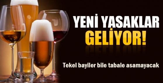 Tabela ve Güneşlik Üzerinde İçki Reklamı Yasak
