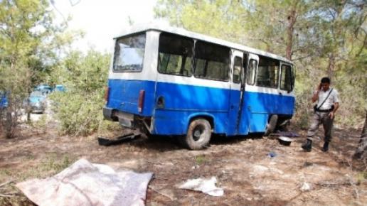 Tarım İşçilerini Taşıyan Minibüs Kaza Yaptı: 1 Ölü, 6 Yaralı