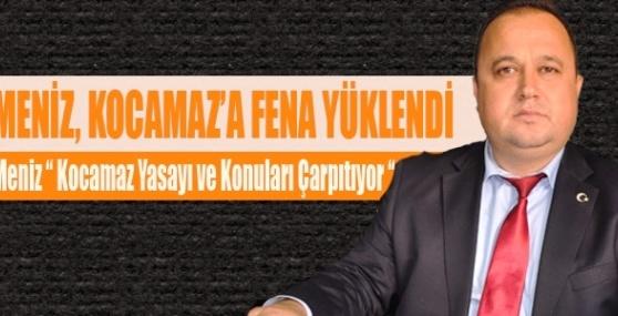 Tarsus AK Parti İlçe Başkanı Meniz, Kocamaz'a Fena Yüklendi