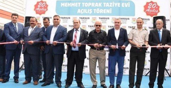 Tarsus Belediyesi Mehmet Toprak Taziye Evi Açıldı
