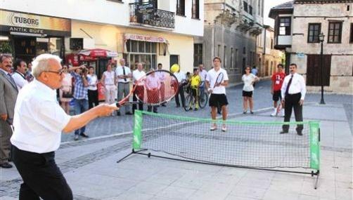 Tarsus Cup Tenis Turnuvası Başladı