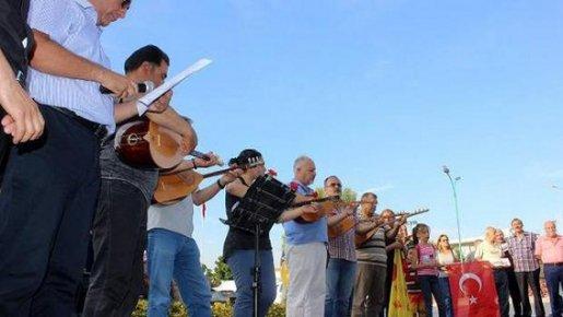 Tarsus Pir Sultan Abdal Kültür Derneği Madımak Katliamını Unutmadı.