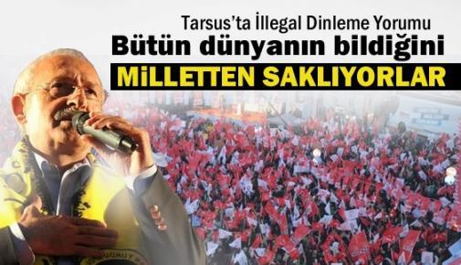 Tarsus'da Kılıçdaroğlu'ndan Dinlenme Yorumu