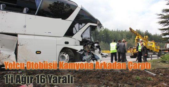 Tarsusda Trafik Kazası