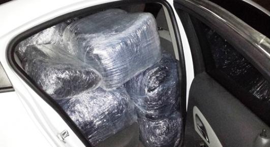 Tarsus'ta 123 Kilo Esrar Yakalandı