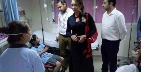 Tarsus'ta 15 Öğrenci Zehirlenme Şüphesiyle Hastaneye Kaldırıldı