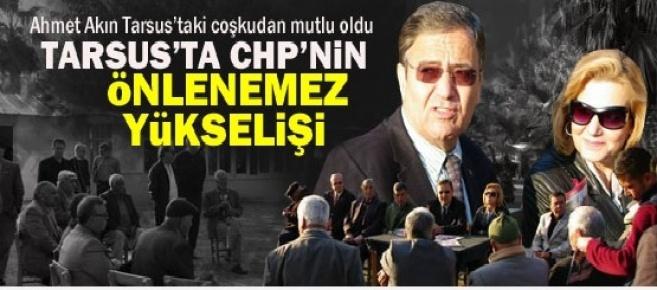 Tarsus'taki Kazanma Coşkusu Ahmet Akın'ı Sevindirdi.