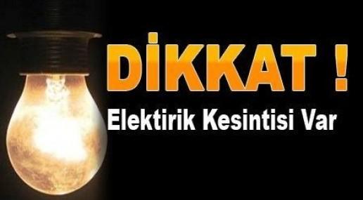 Tarsus'un 36 Köyünde 15 Aralık'ta Elektrik Kesintisi Uygulanacak
