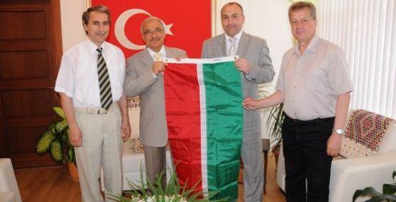 Tataristanın Aznakat Belediyesinden Tarsus Belediyesine Ziyaret