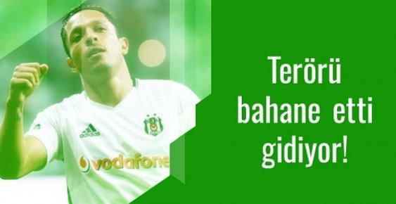Terör Atmosferi Ünlü Futbolcuyu Korkuttu. Türkiyeden Ayrılmak İstiyor