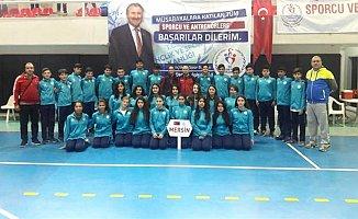 Aliye Pozcu Ortaokulu Mersin Şampiyonu
