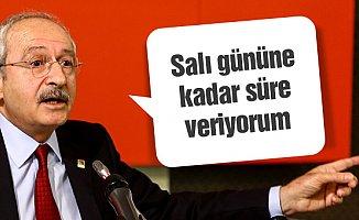 Kılıçdaroğlu Mersin'de Erdoğan'a Salı Gününe Kadar Süre Verdi.
