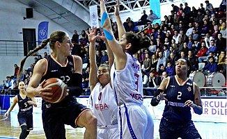 Mersin Büyükşehir Belediyespor - Çukurova Basketbol: 73-66