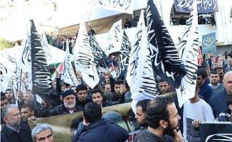 Mersin'de Kudüs Protestoları