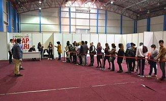 Mersin'de Yılmaz Özdil İzdihamı