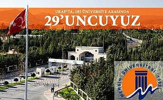 Mersin Üniversitesi 185 Üniversite Arasında 29.Sırada