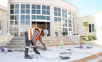 Silifke'de AKM Binası Yenileniyor