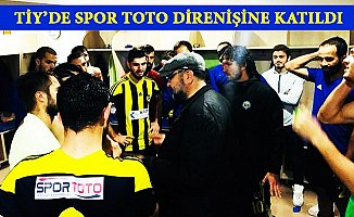 Spor Toto'ya Karşı Direnişe Tarsus İdmanyurdu da Katıldı