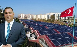 Tarsus'ta Güneş Enerjisi Santralinde Sona Geliniyor