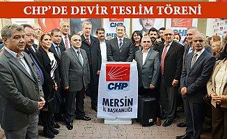 CHP Mersin İl Başkanlığında Devir Teslim Töreni