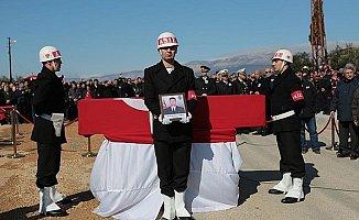 Mersin'in Afrin Şehidi Uzman Çavuşu, Son yolcuğuna Binlerce Kişi Uğurladı