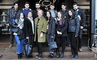 Saliha Adıcan Bursiyer Öğrencileri İle Kahvaltıda Buluştu.