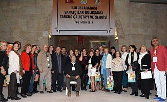 Uluslararası Tarsus Sanatçılar Buluşması Sona Erdi