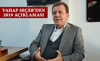 Vahap Seçer 2019'da Mersin Belediye Başkan Adayıyım