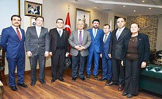 AK Parti'den Başkan Kocamaz'a Ziyaret