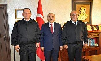 Mersin'e Yeni Sahil Güvenlik Komutanı