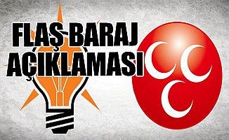 MHP'den AKP ile İttifak Açıklaması: C'de Bir Sır Var