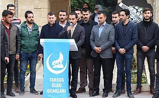 Tarsus'ta Ülkücüler Özgecan'ı Andı
