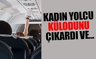 Türkiye'den Rusya'ya Giden Uçakta Şok Görüntü