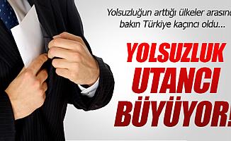 Türkiye Yolsuzlukta Birinci Oldu
