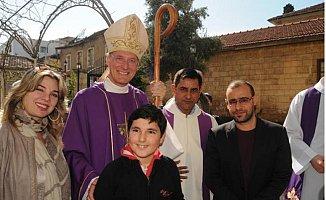 Vatikan Büyükelçisi Mersin'de