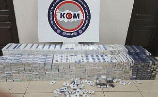 Mersin'de Sigara Kaçakçılarına Ağır Darbe