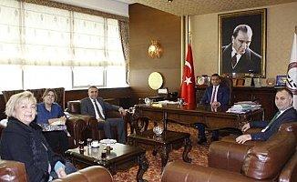 Müdür Topkaya'dan, Başkan Er'e Çocuk Odaklı Ziyaret