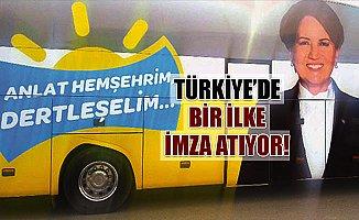 """""""Anlat Hemşehrim, Dertleşim"""" Otobüsü Mersin'de"""
