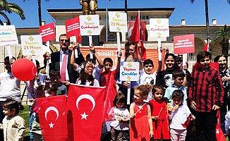 CHP'den Mersin'de Alternatif 23 Nisan Kutlaması