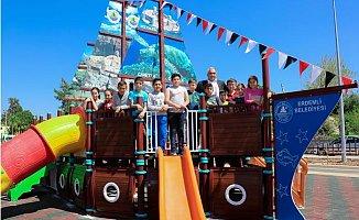 Çocukların Gemi Park Hayali Gerçek Oldu