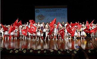 Mersin'de 23 Nisan Coşkusu