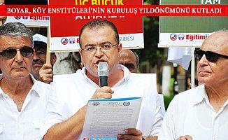 Öğretmenler Köy Estitülerinin Kuruluşunu Kutladı.